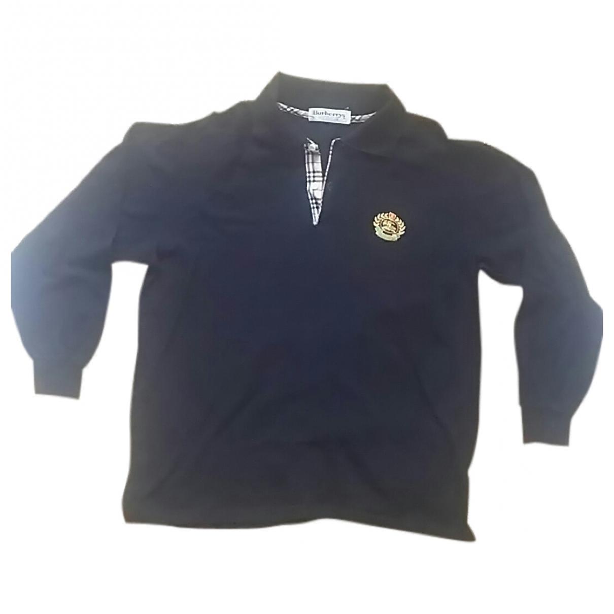Burberry \N Black Cotton Polo shirts for Men L International