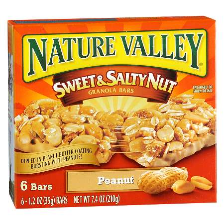 Nature Valley Sweet & Salty Nut Granola Bars - 1.2 oz x 6 pack