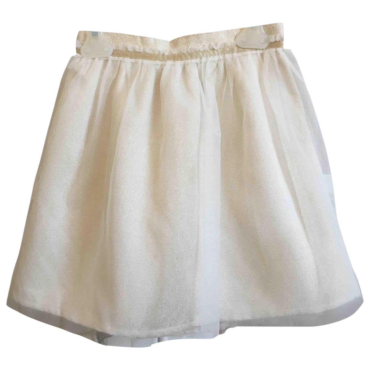 Cyrillus - Jupe   pour enfant en coton - dore