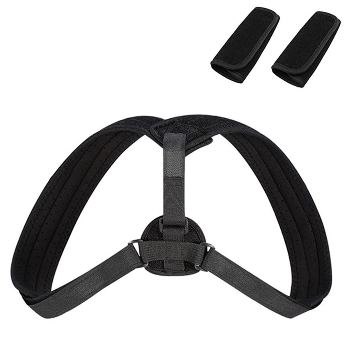 Upper Back Posture Corrector Clavicle Support Belt Back Slouching Corrective Posture Correction