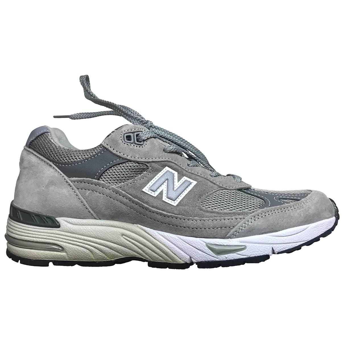 New Balance \N Sneakers in  Grau Leinen