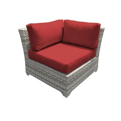 TKC045b-CS-TERRACOTTA Fairmont Corner Sofa with 2 Covers: Beige and