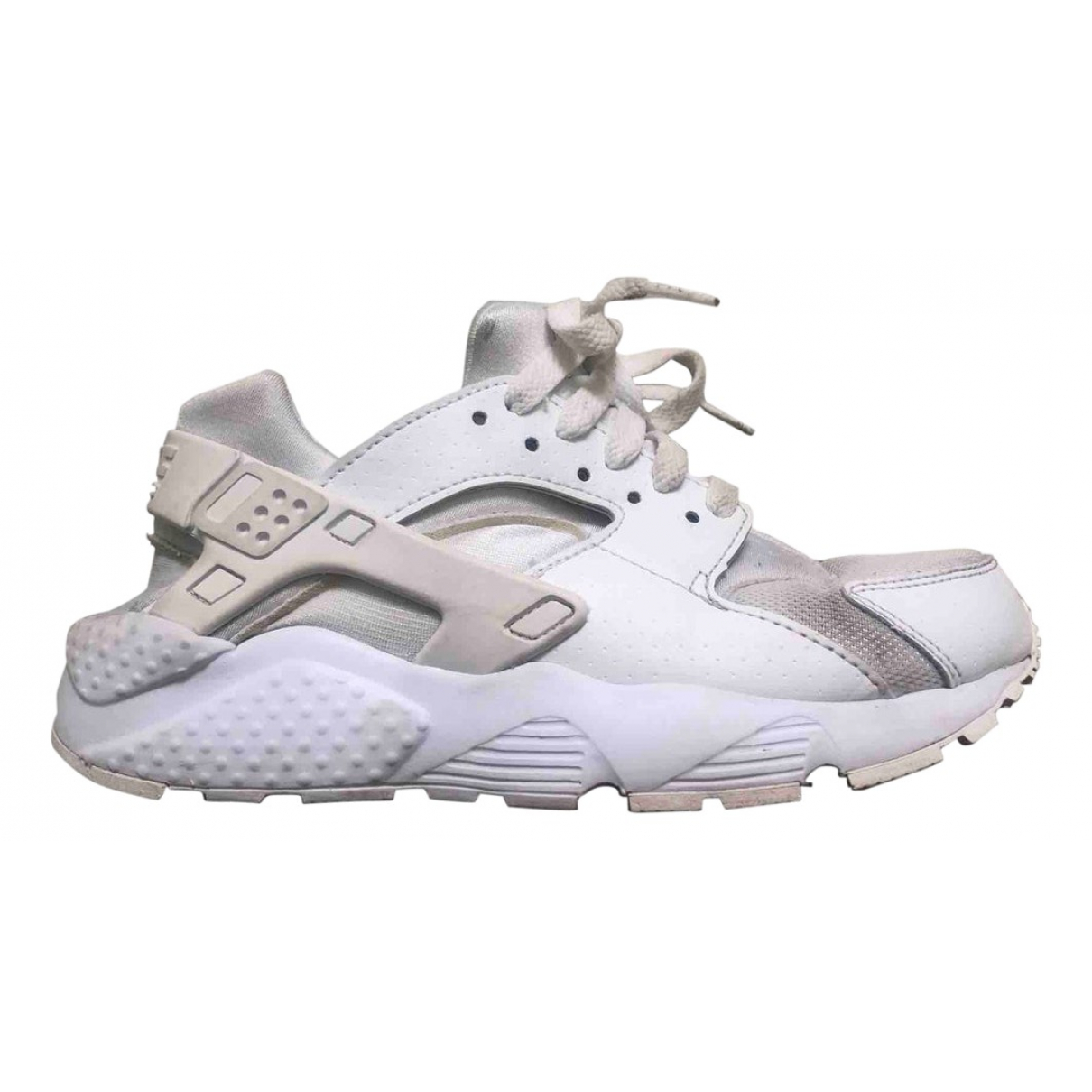 Nike Huarache Sneakers in  Weiss Leinen
