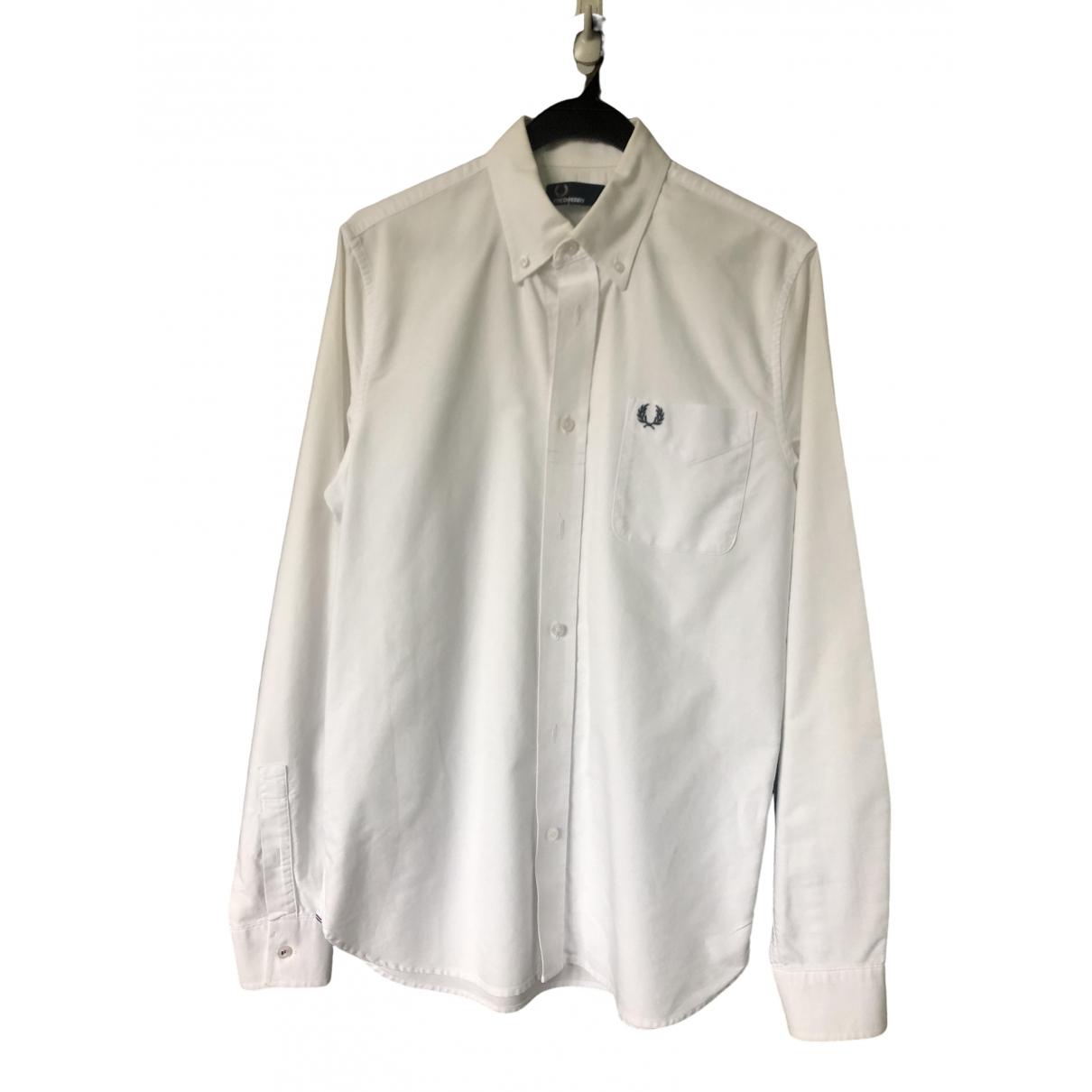 Fred Perry \N Hemden in  Weiss Baumwolle