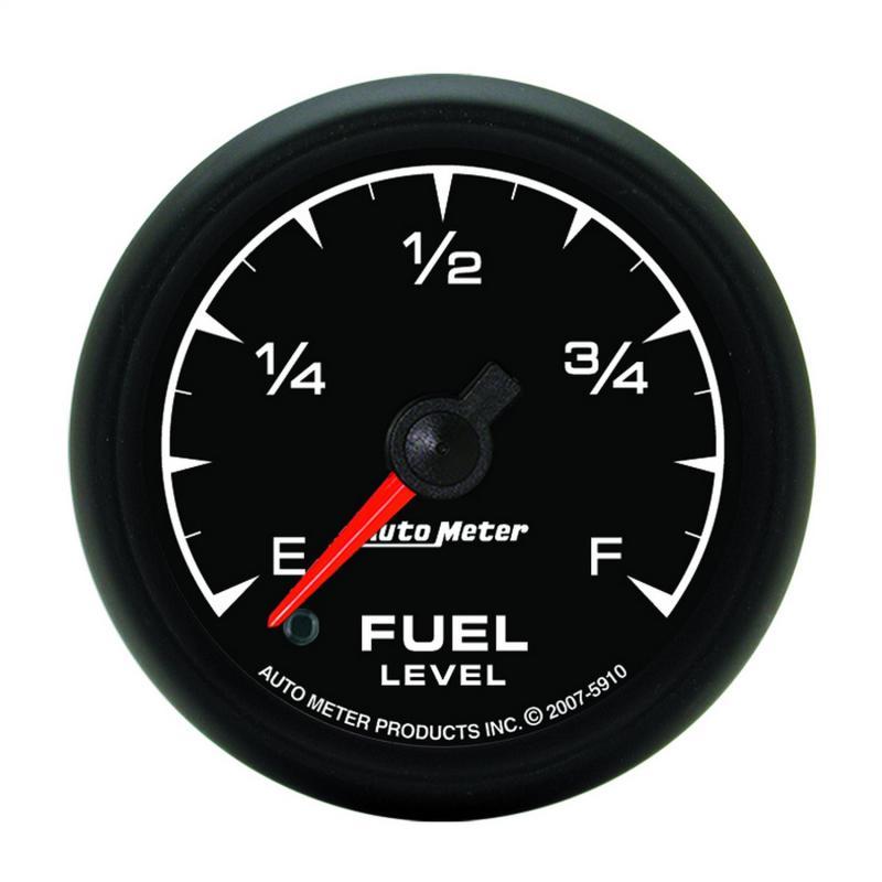 AutoMeter GAUGE; FUEL LEVEL; 2 1/16in.; 0-280O PROGRAMMABLE; ES