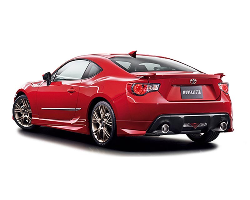 Modellista MOD-86-RMG Rear Mud Guards Subaru BRZ / Scion FR-S / Toyota GT-86 2013-2021