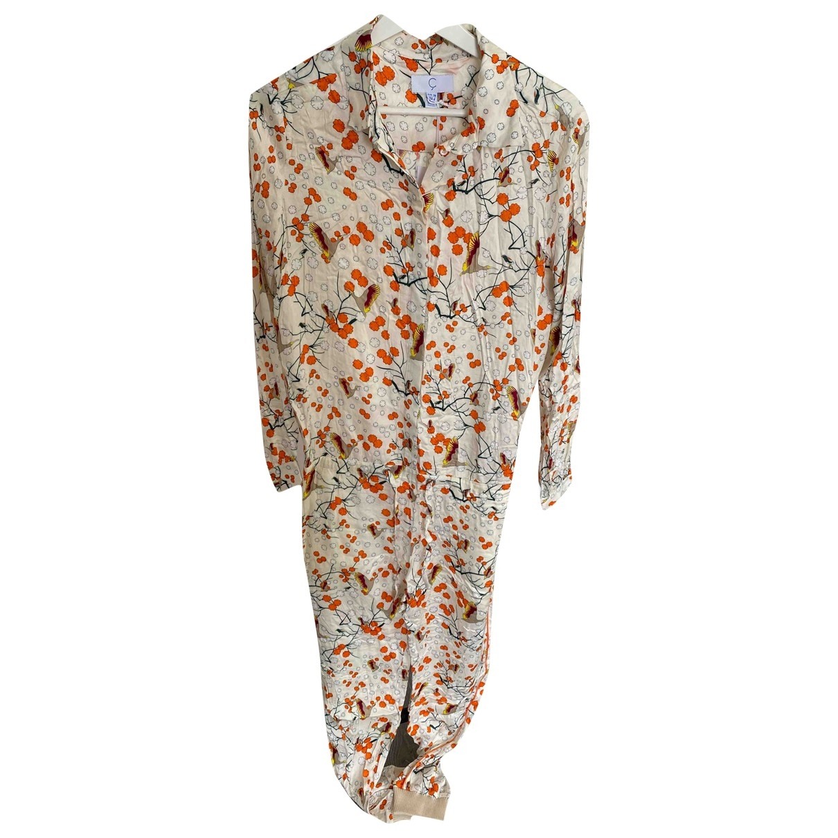 Non Signe / Unsigned \N Jumpsuit in  Bunt Polyester