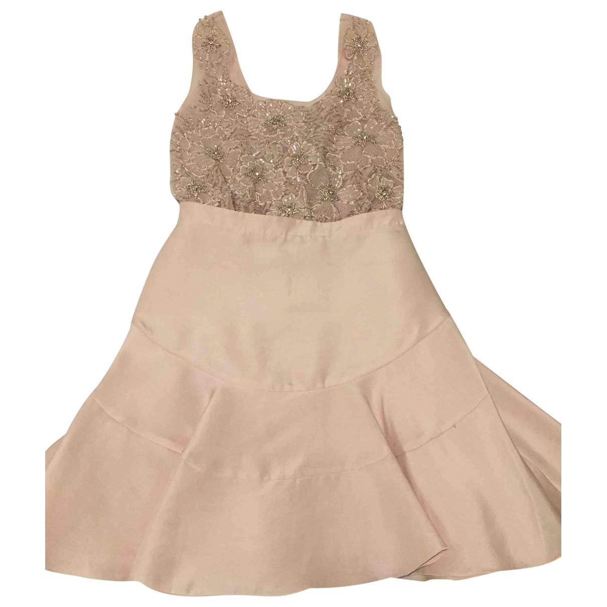 Antonio Berardi \N Pink Silk dress for Women 6 UK
