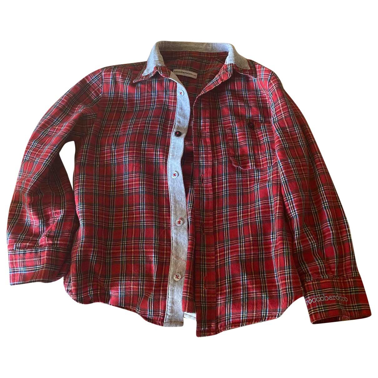 - Pull   pour enfant en coton - rouge