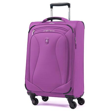 Atlantic Ultra Lite 21 Inch Lightweight Luggage, One Size , Purple
