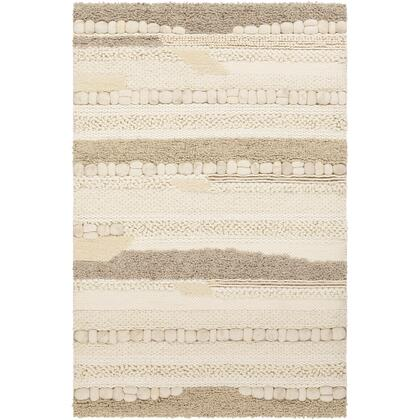Summit II SIT-1000 8' x 10' Rectangle Modern Rugs in Cream  Ivory  Butter