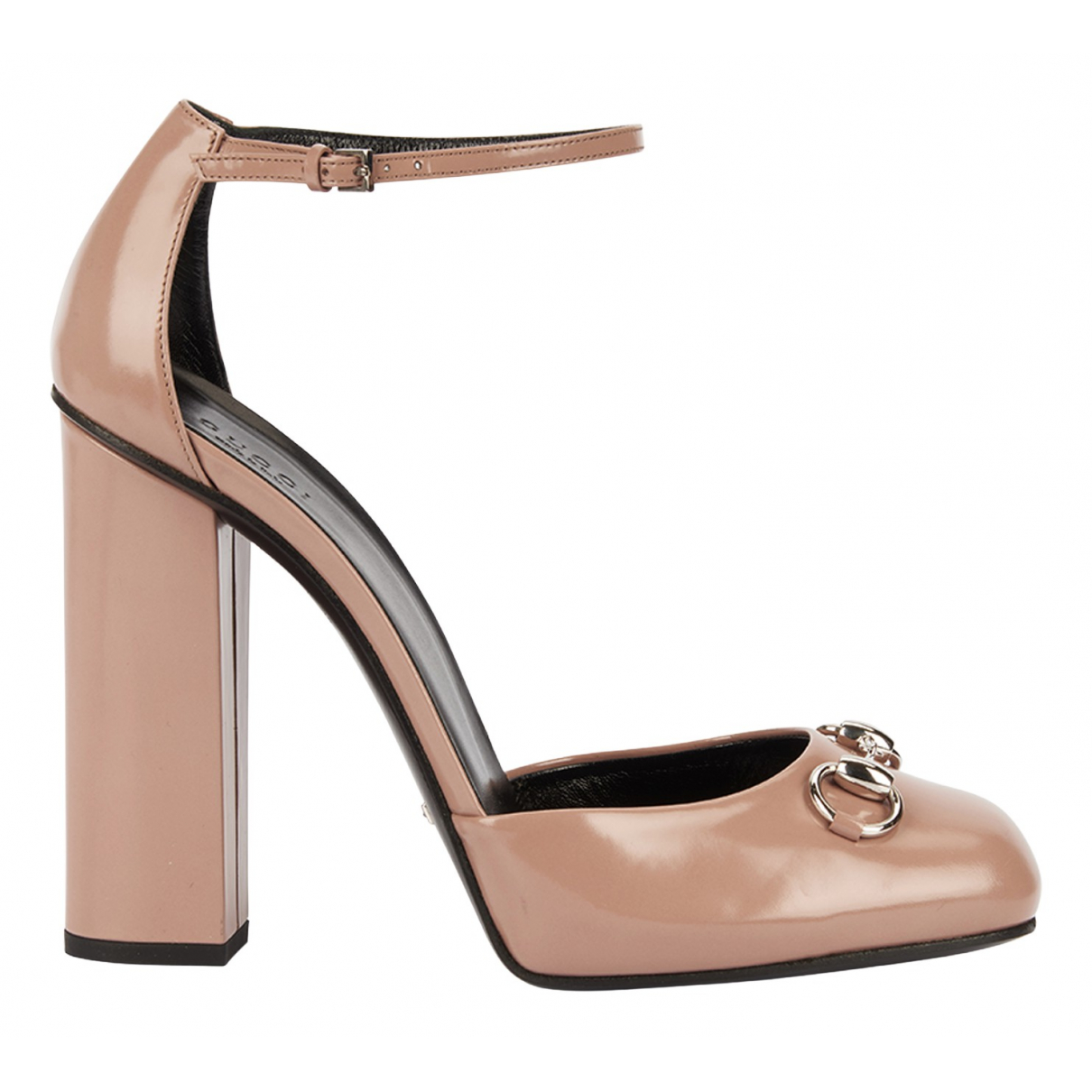 Gucci N Pink Leather Heels for Women 8.5 UK