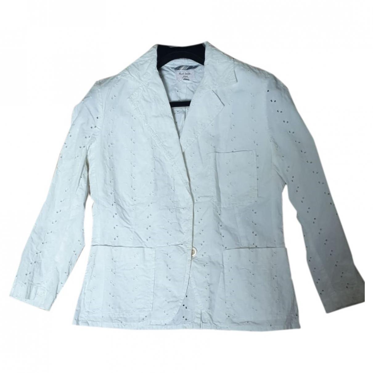 Paul Smith \N White Cotton jacket for Women 44 IT
