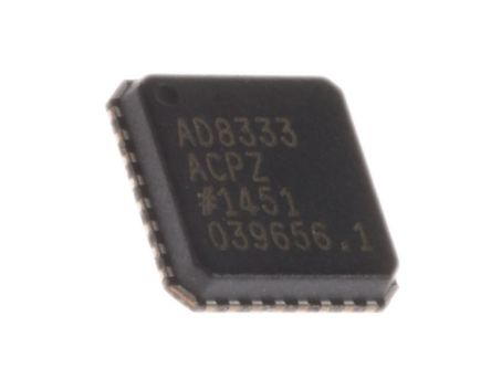 Analog Devices AD8333ACPZ-WP, Demodulator Quadrature 4.7dB 32-Pin LFCSP