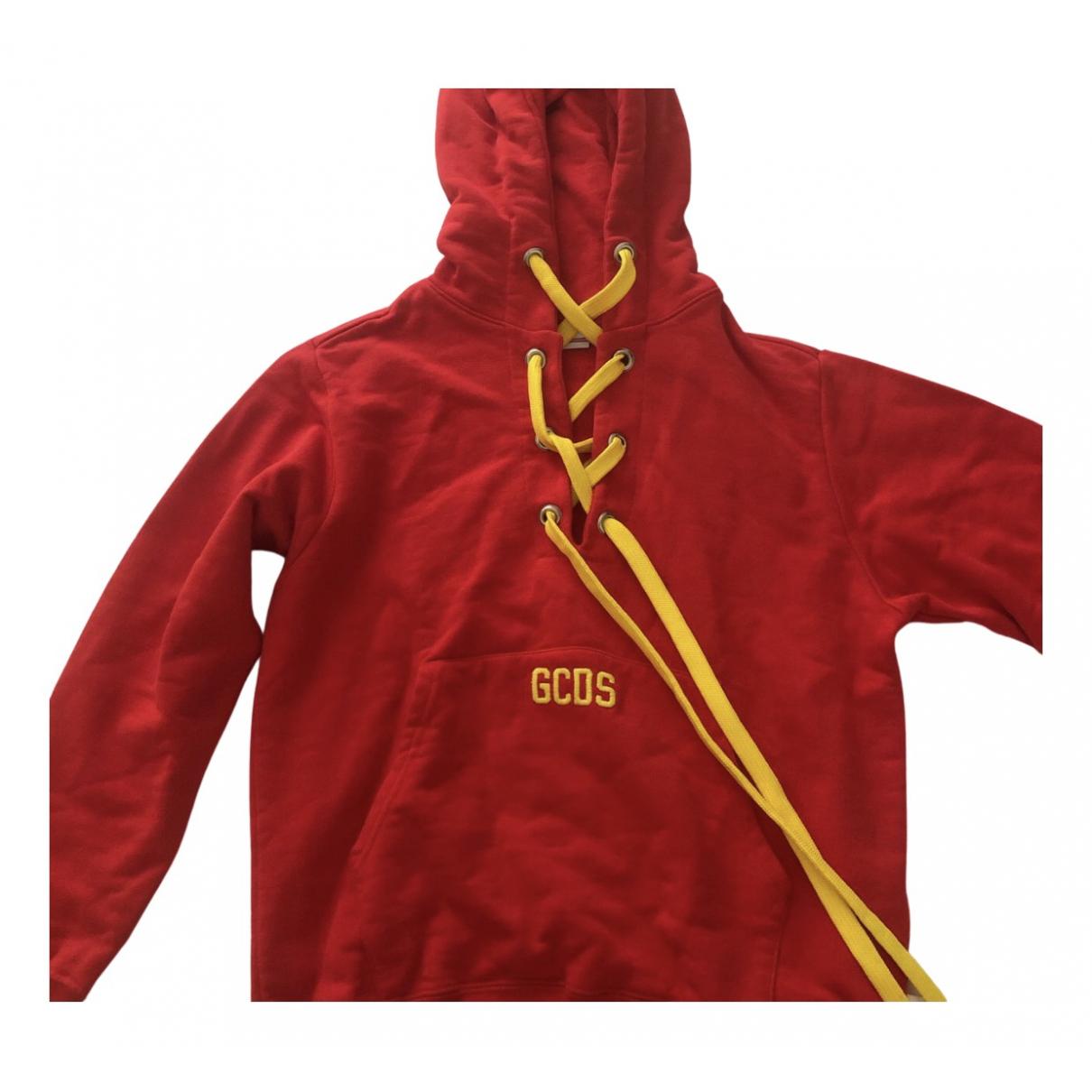 Gcds - Pull   pour femme en coton - rouge