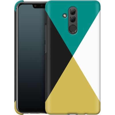 Huawei Mate 20 Lite Smartphone Huelle - Four Triangles von caseable Designs