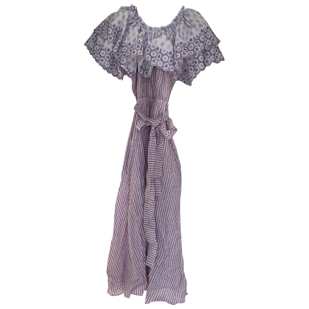 Gul Hurgel \N Kleid in  Lila Leinen
