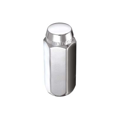 McGard 69424 Hex Lug Nut (Cone Seat) M14X1.5 / 22mm Hex / 1.945in. Length (Box of 100) - Chrome