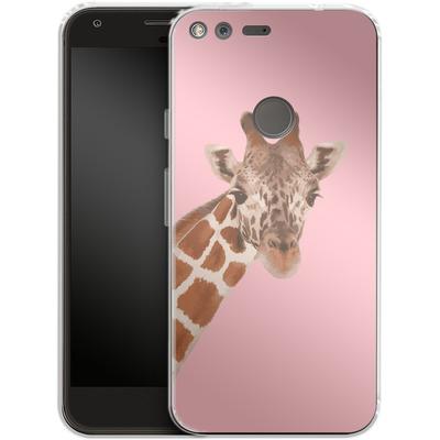 Google Pixel XL Silikon Handyhuelle - Giraffe Pride von Mukta Lata Barua