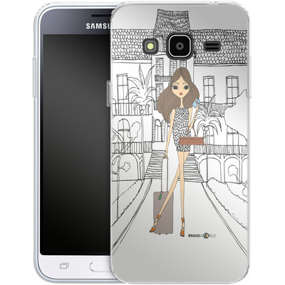 Samsung Galaxy J3 (2016) Silikon Handyhuelle - IRMA In Lyon von IRMA