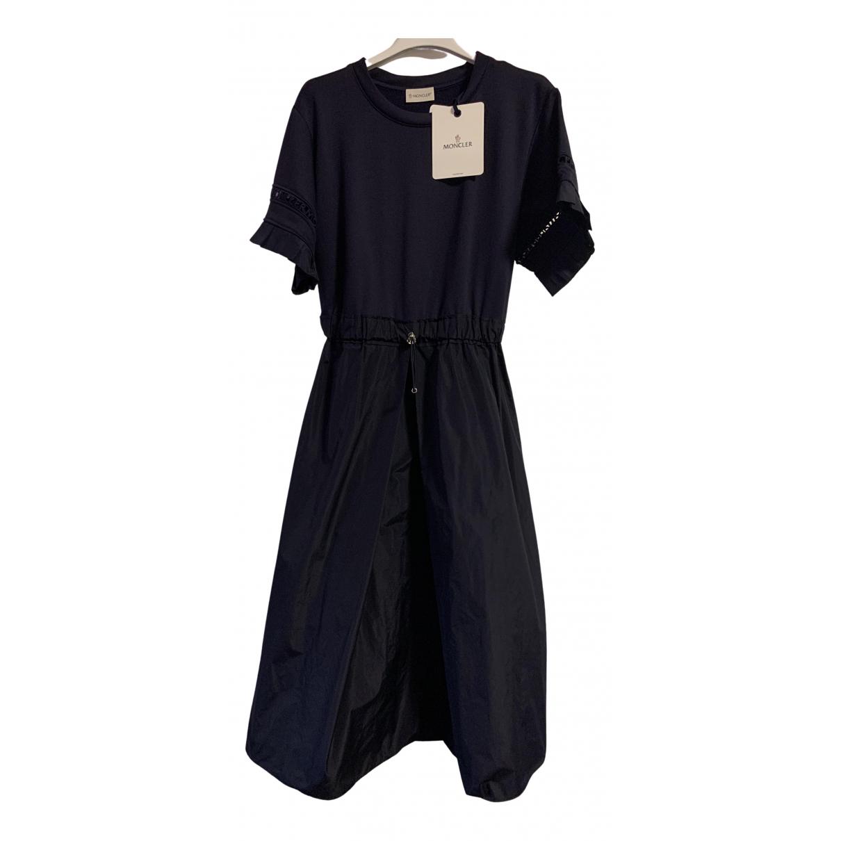 Moncler \N Kleid in  Blau Polyester