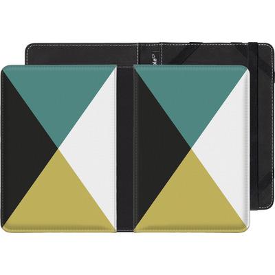 Kobo Aura eBook Reader Huelle - Four Triangles von caseable Designs