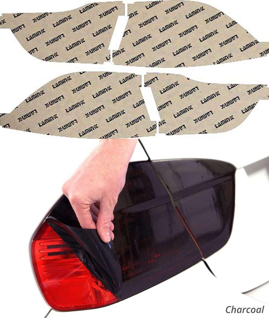 Kia Optima 09-10 Charcoal Tail Light Covers Lamin-X K212C