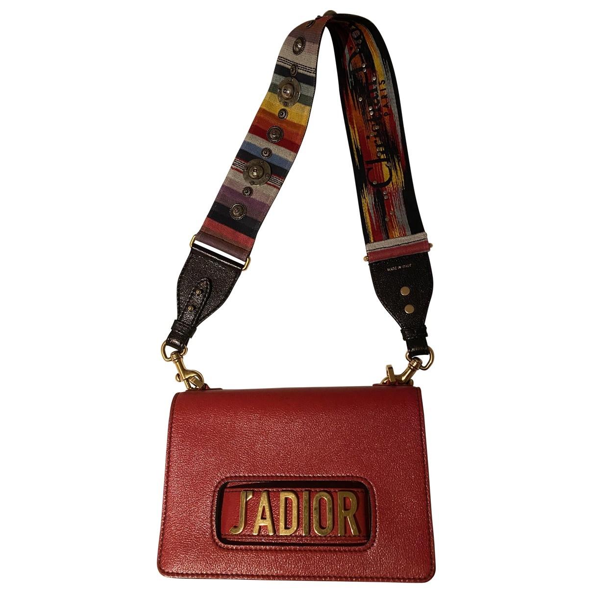 Dior Jadior Handtasche in  Rot Leder