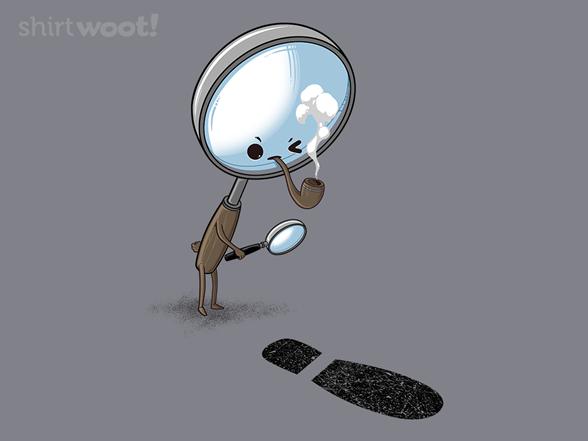 Sherlock Investigates T Shirt