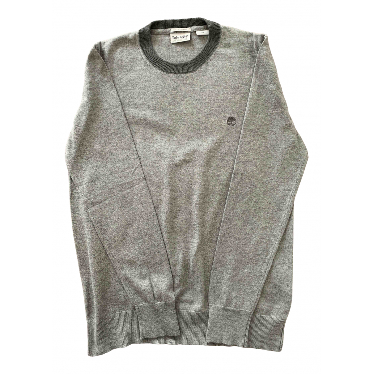 Timberland \N Pullover.Westen.Sweatshirts  in  Grau Baumwolle