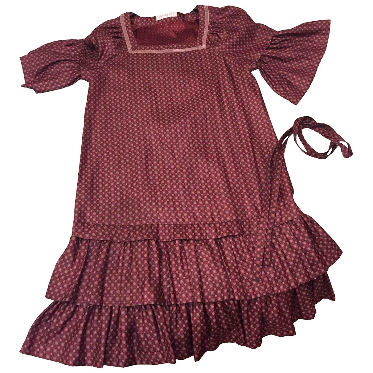 Intrend \N Burgundy skirt for Women 46 IT