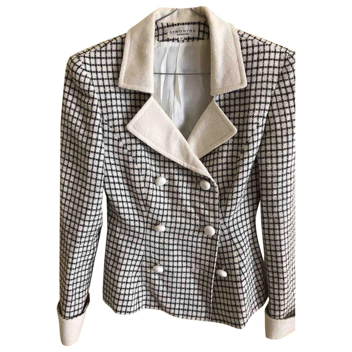 Georges Rech \N Ecru Wool jacket for Women 38 FR