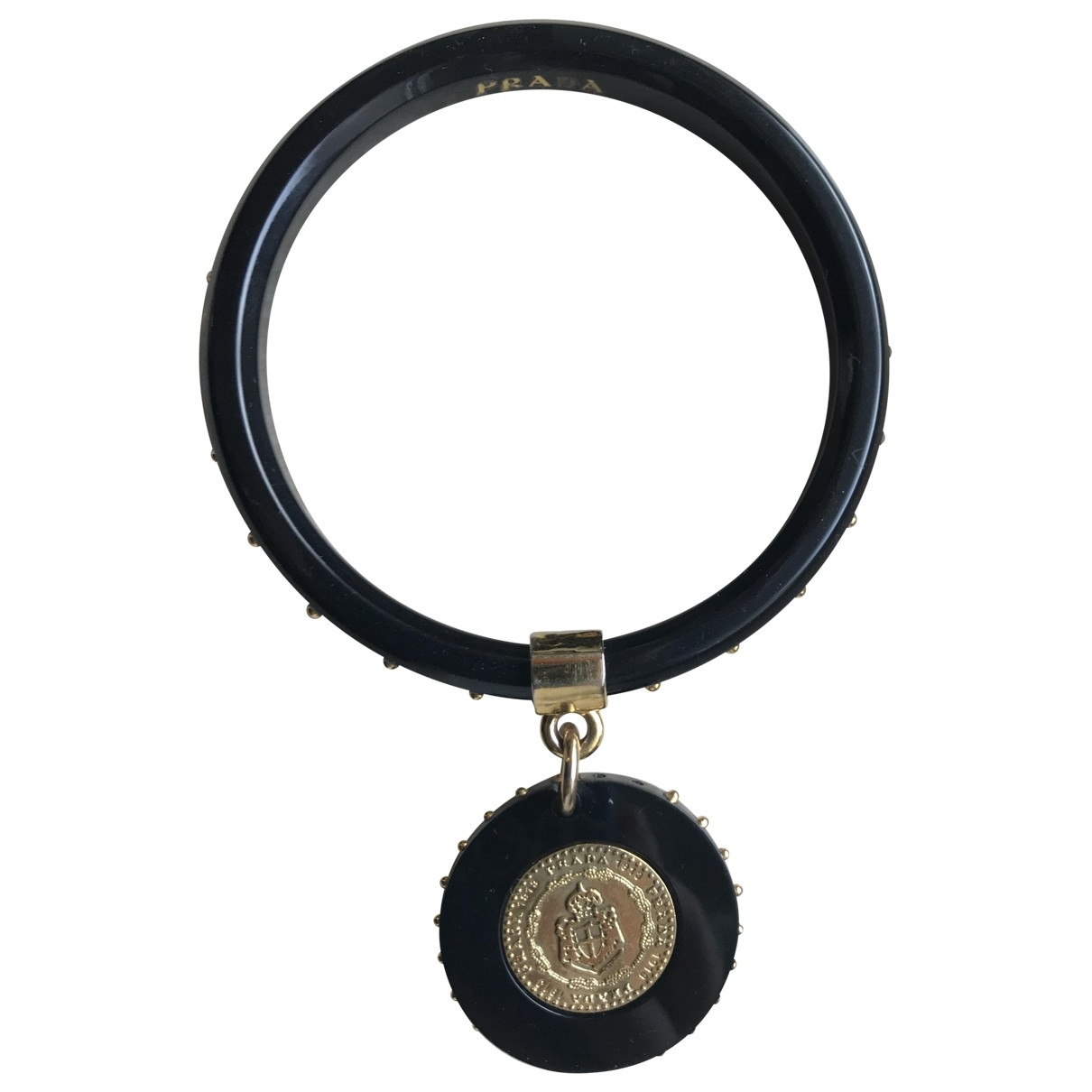 Prada \N Armband in  Schwarz Kunststoff