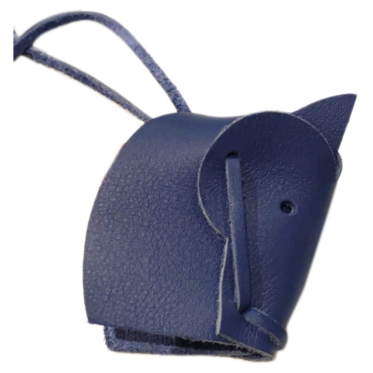 Hermes - Bijoux de sac   pour femme en cuir - bleu