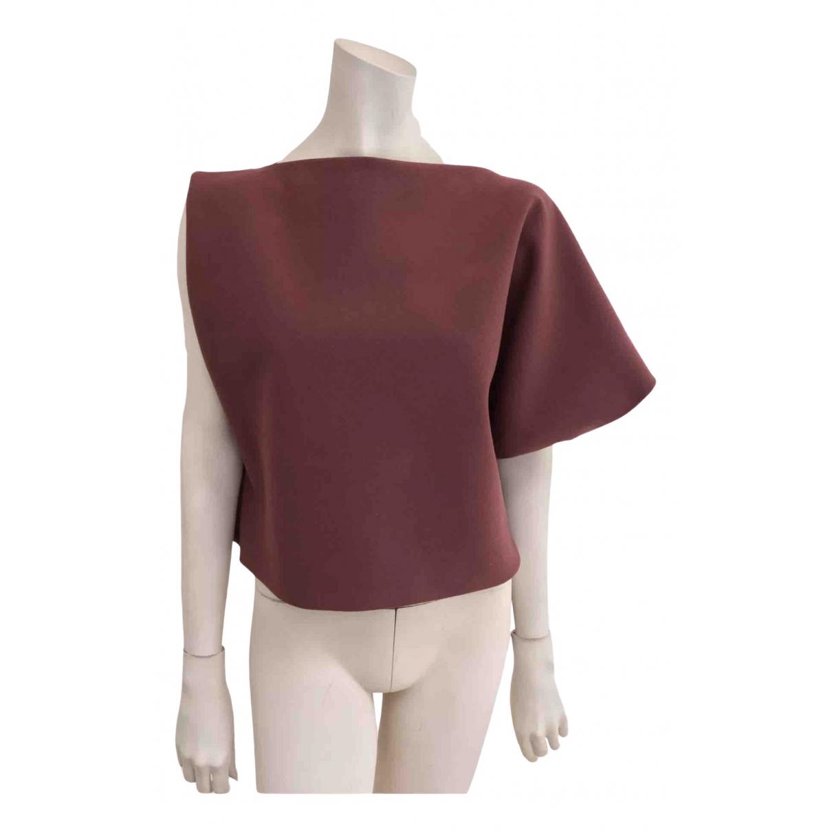La Petit S***** - Top   pour femme en laine - marron