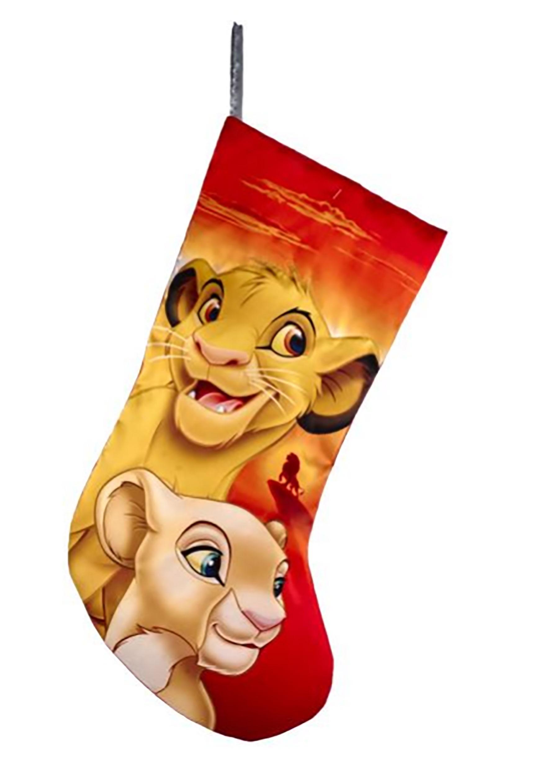 Disney Lion King Simba & Nala Stocking