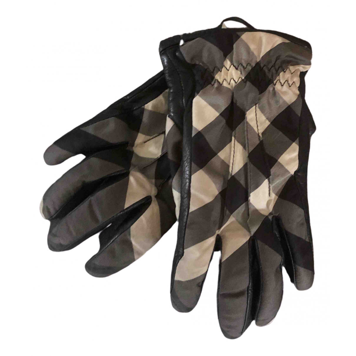 Burberry \N Multicolour Leather Gloves for Women 6.5 Inches