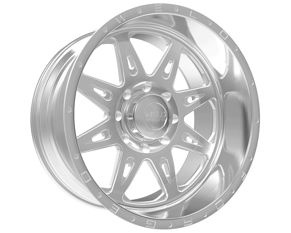 Weld Racing 80D3-22286-510N XT Cheyenne 22x12 8x6.5 -51mm Brushed w/Tinted Clear Smooth Lip