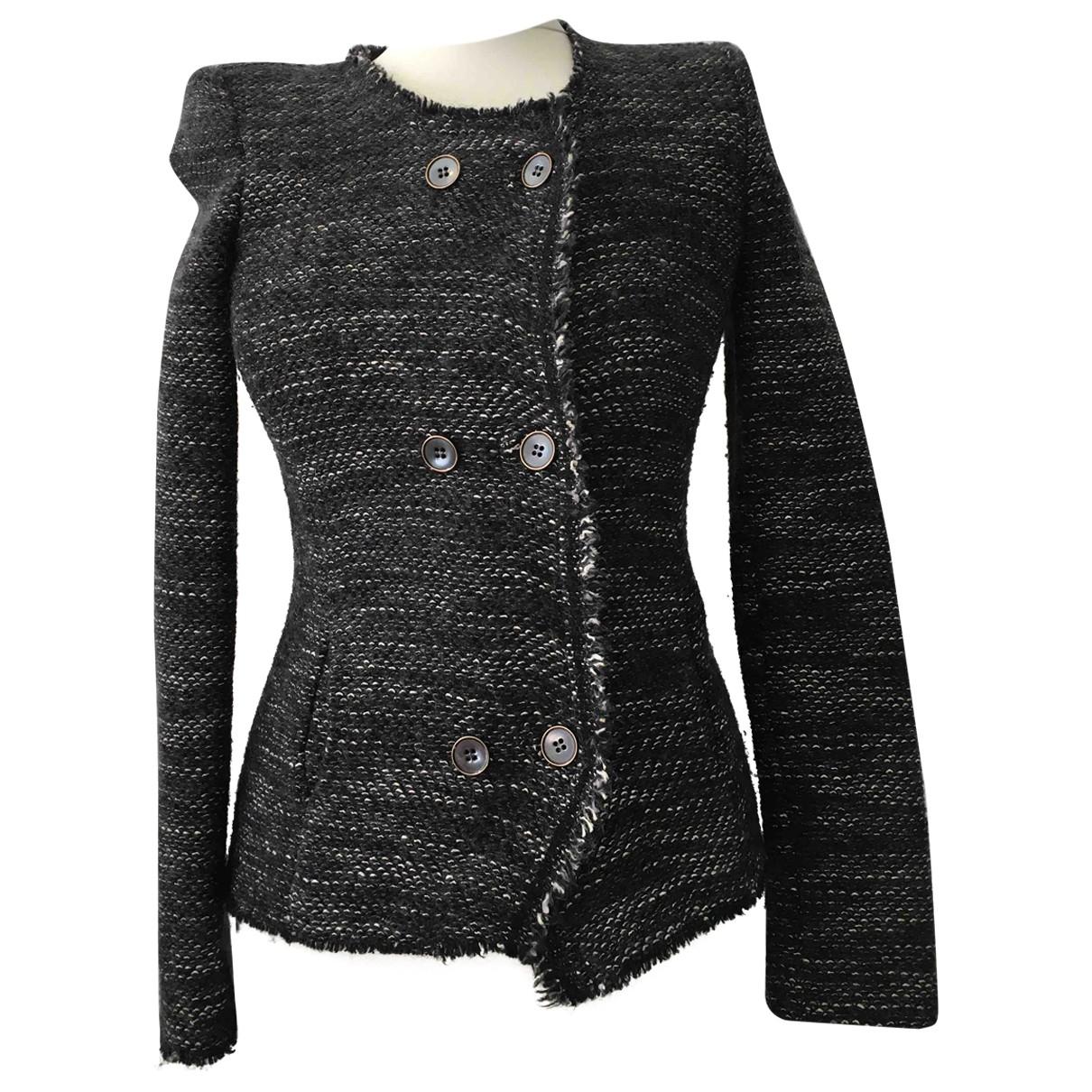 Isabel Marant \N Black Wool jacket for Women 36 FR