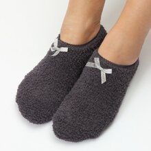 Socken mit Schleife Dekor