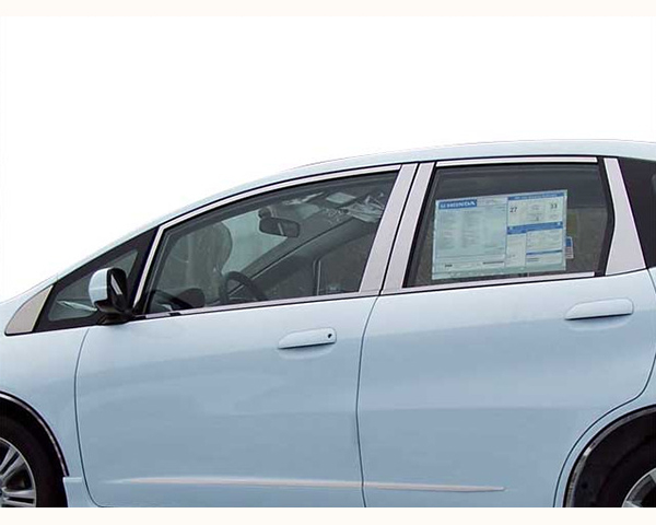 Quality Automotive Accessories 16-Piece Window Package with Pillars and Window Sills Honda Fit 2009