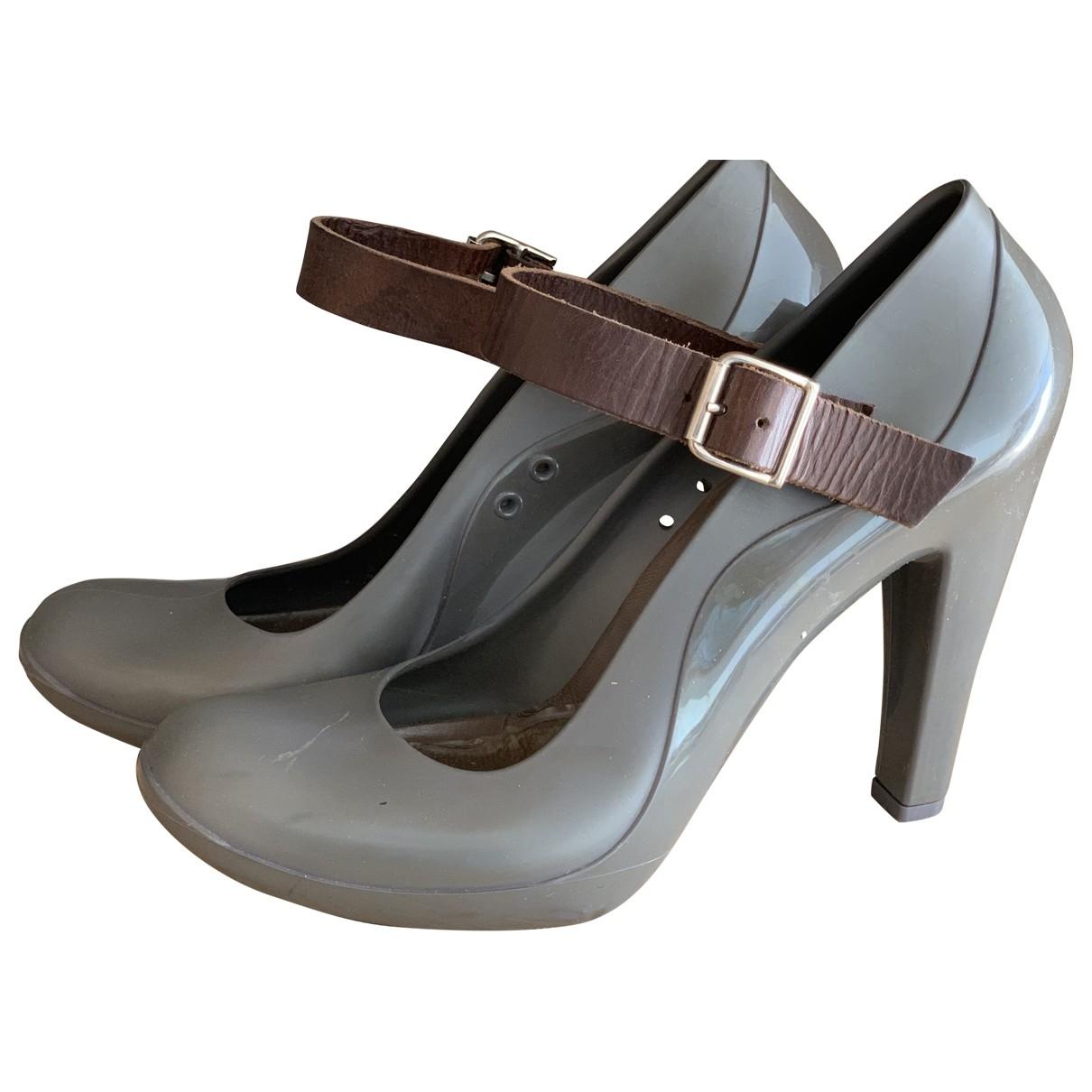 Marni \N Grey Rubber Heels for Women 41 EU