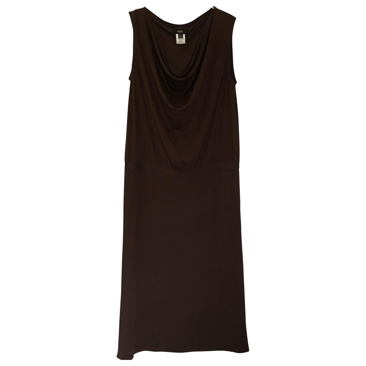 Whistles \N Kleid in  Braun Seide
