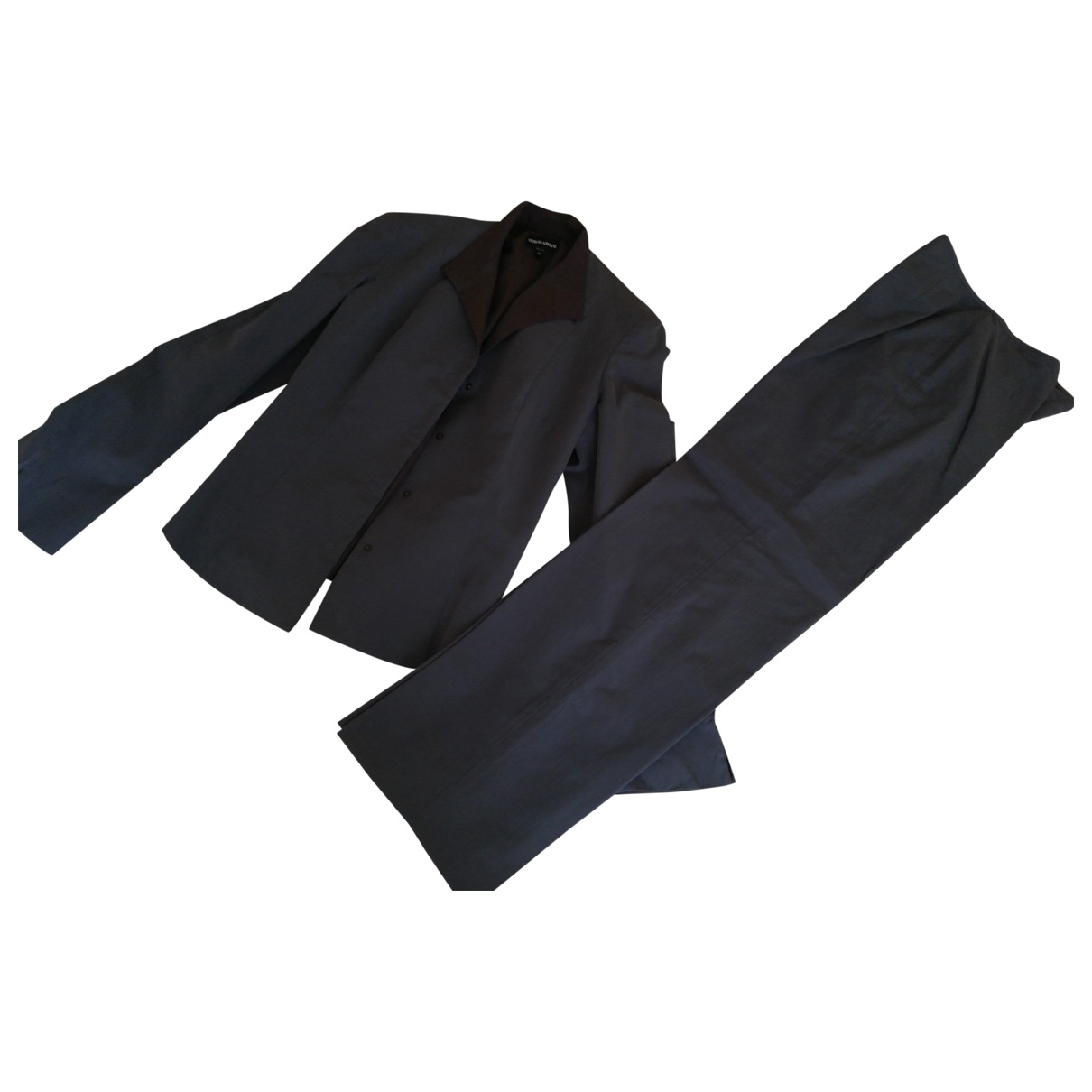 Giorgio Armani - Veste   pour femme en coton - gris