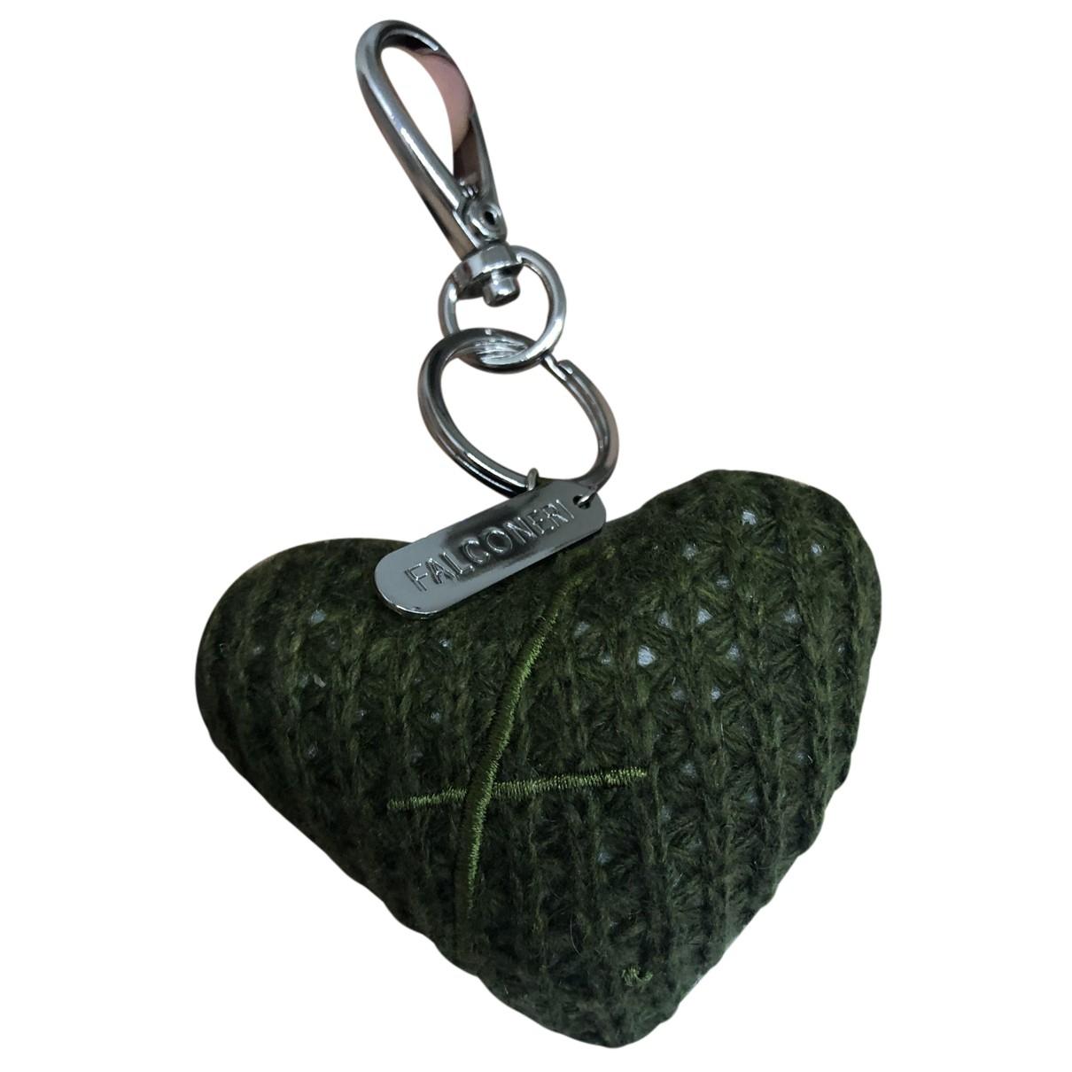 Falconeri N Green Wool Purses, wallet & cases for Women N