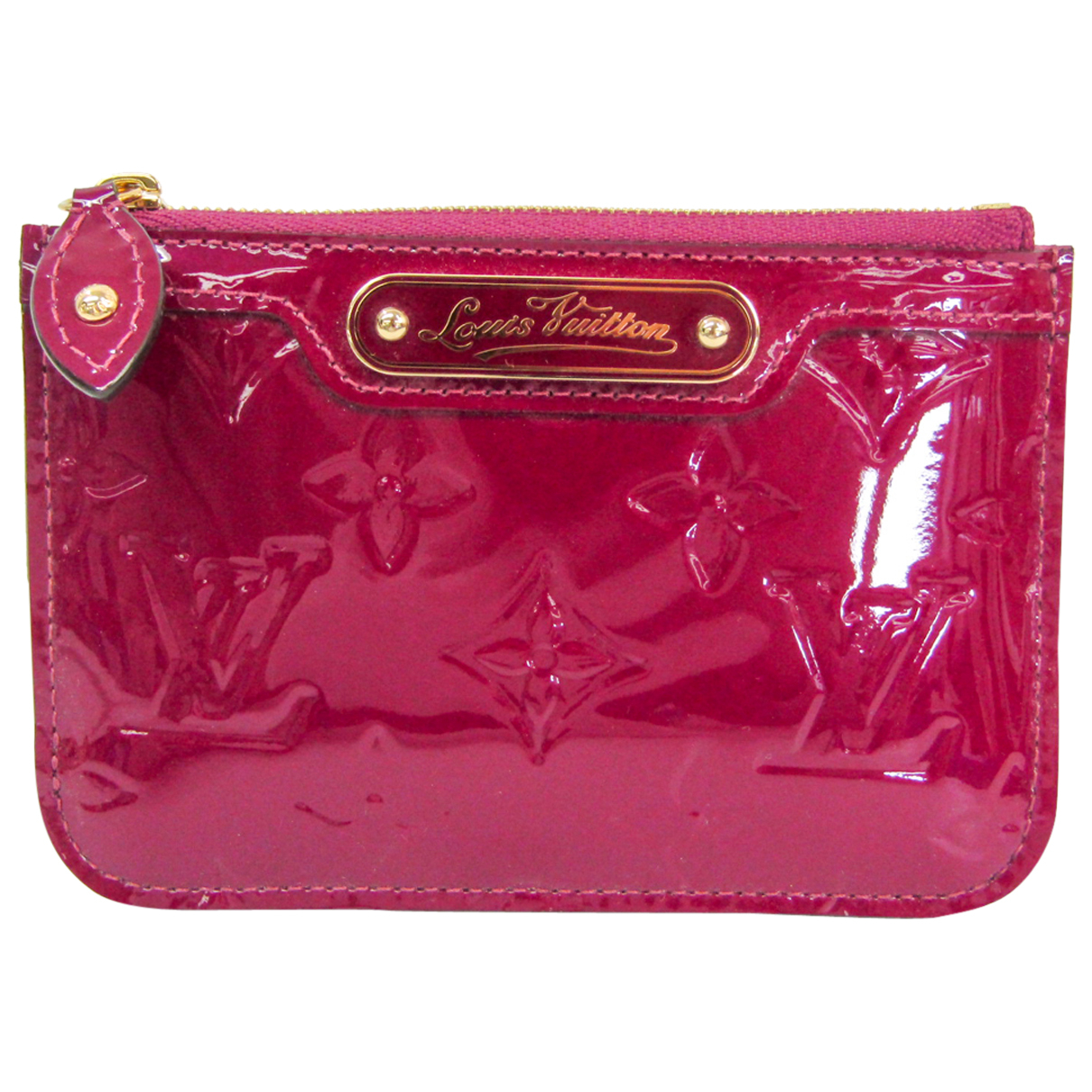 Louis Vuitton N Red Patent leather wallet for Women N