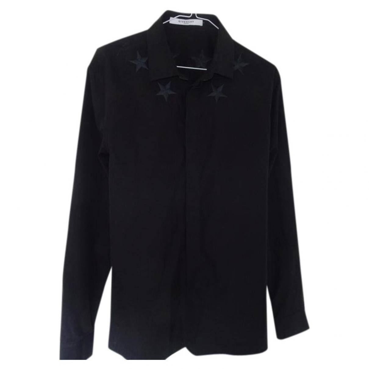 Givenchy \N Black Cotton Shirts for Men L International
