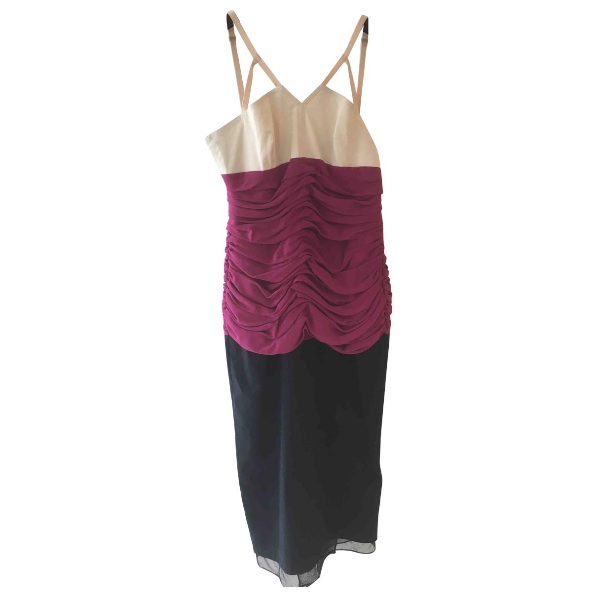 Antonio Marras \N Kleid in  Schwarz Baumwolle - Elasthan