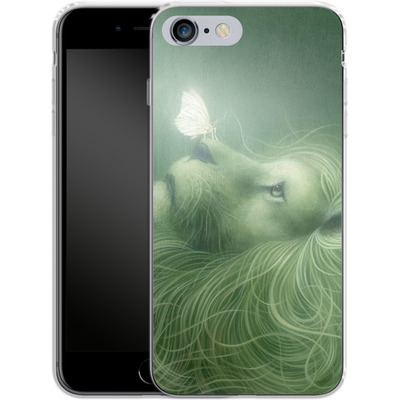 Apple iPhone 6s Plus Silikon Handyhuelle - In the Calm of the Pale Moonlight von Dan May