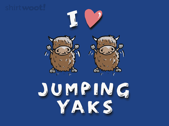 Jumping Yaks T Shirt